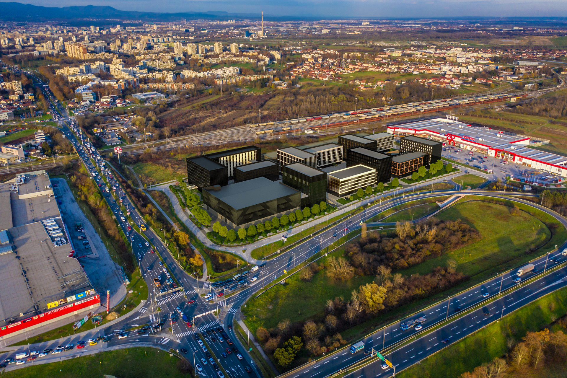 Status of the CITY ISLAND Zagreb project at the beginning of October